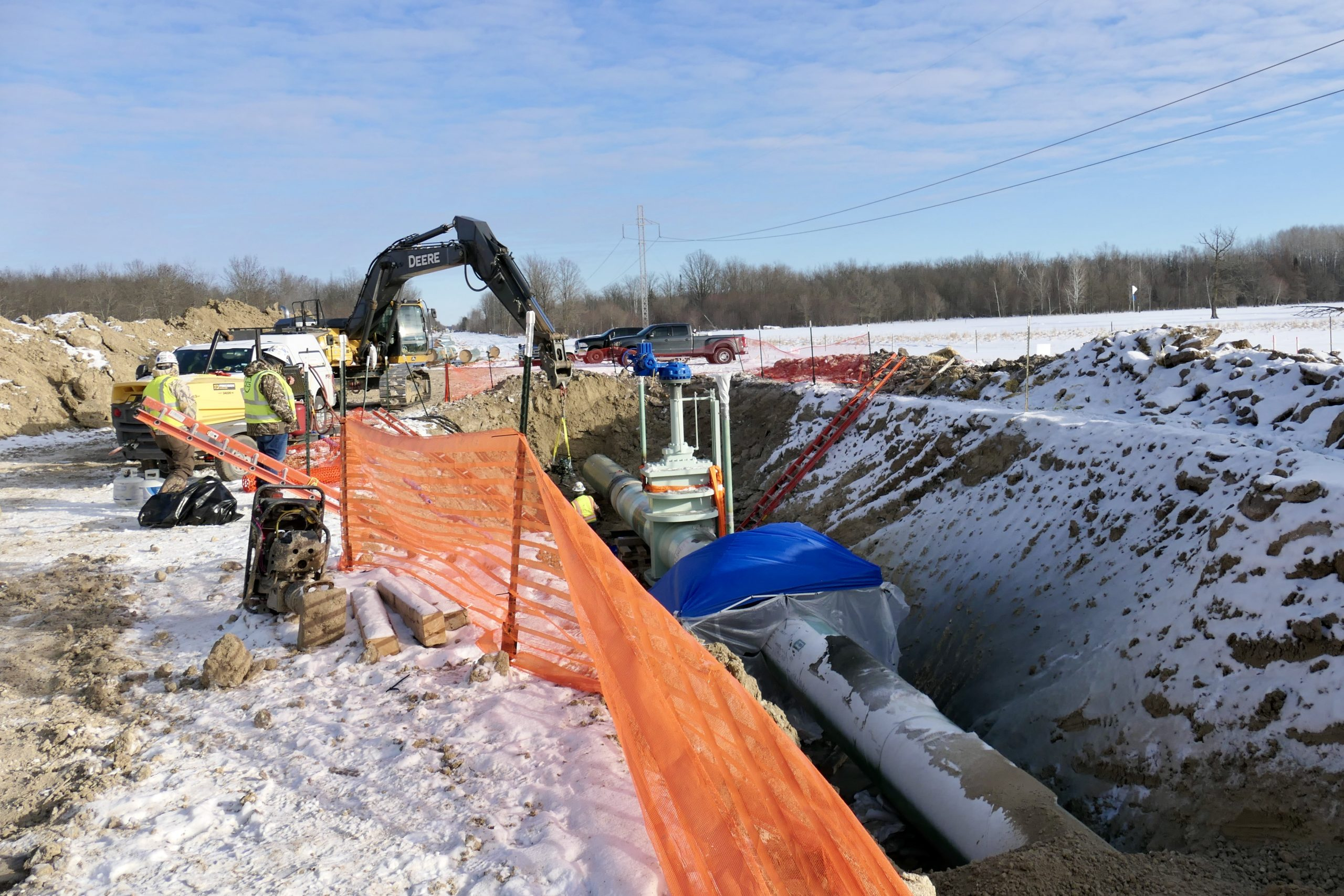 Oil and water: Resistance, construction intensify on Enbridge's Line 3 pipeline