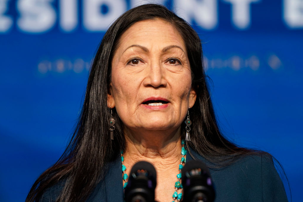 Haaland asks for federal funding for Interior to fight climate change, aid Native Americans